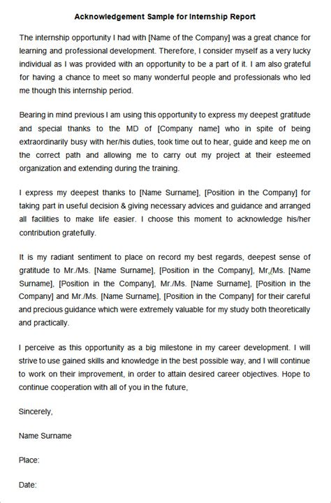 dissertation acknowledgements examples uk 31 acknowledgement letter templates free samples