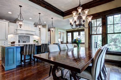 dining room kitchen design open plan open floor plan kitchen and dining room traditional
