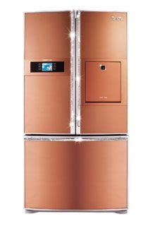 copper colored appliances 1000 images about copper kitchen refridgerators on