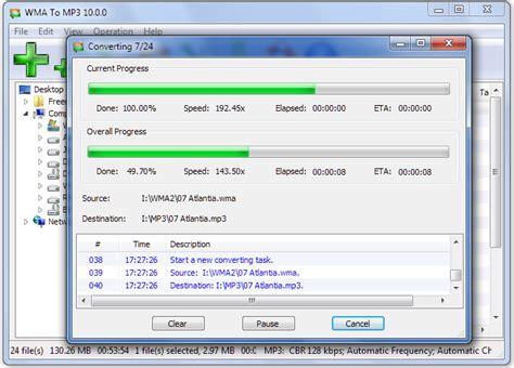 mp3 converter wma to mp3 converter freeware