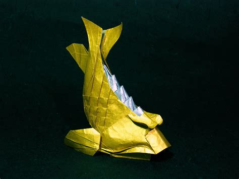 origami wiki file shachihoko origami jpg wikimedia commons
