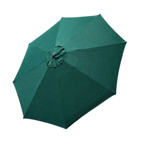 patio umbrella replacement canopy top patio umbrella cover 9 ft 8 ribs canopy green