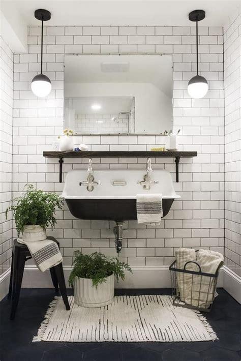 Black White Bathroom Rugs by 20 Gorgeous Black And White Bathroom Rugs 70