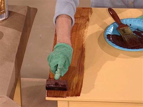 paint colors look like wood how to paint a faux wood grain how tos diy