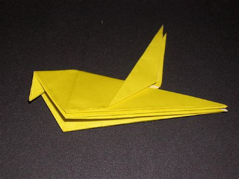 robin origami origami robin folding how to make an