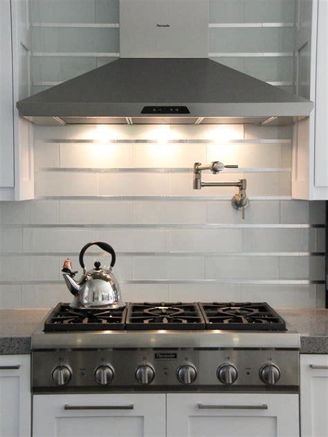 stainless steel backsplash kitchen 20 stainless steel kitchen backsplashes hgtv