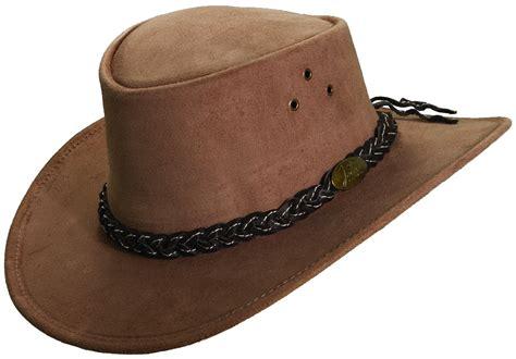 hat for jacaru wallaroo suede hat explorer hats