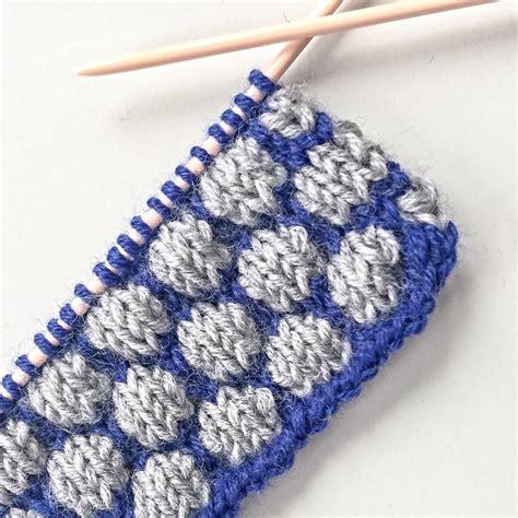 bobble stitch knit pattern bobble stitch craftanized