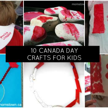 canada day crafts for flags
