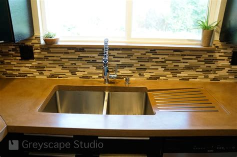 kitchen sink with drainer board kitchen sink with integral drain board contemporary