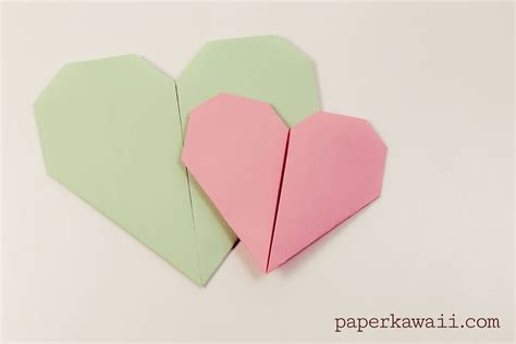 origami of easy origami tutorial paper kawaii