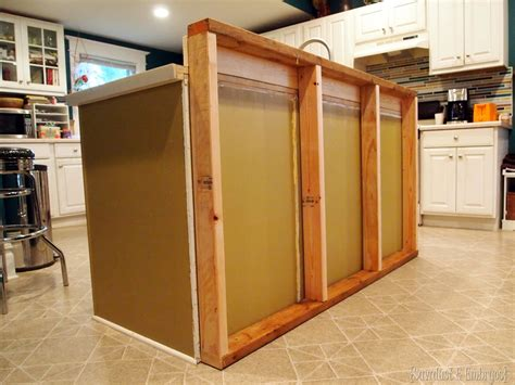 how to build a kitchen island bar diy breakfast bar added to the kitchen island reality daydream