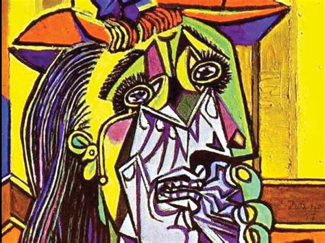picasso paintings the weeping the weeping arts culture the pacific northwest