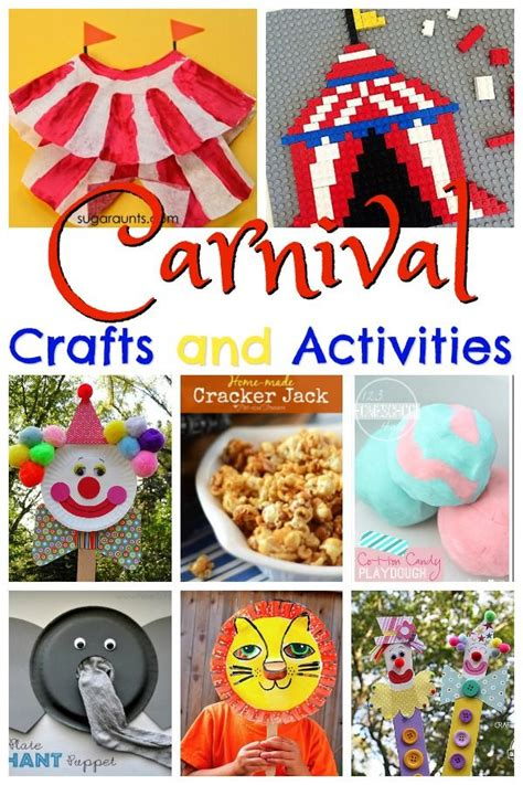 carnival crafts for 17 best ideas about carnival crafts on
