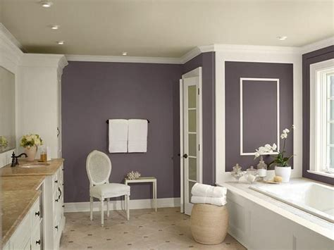 Bathroom Ideas Neutral Colors by Neutral Bathroom Color Schemes Neutral Purple Bathroom