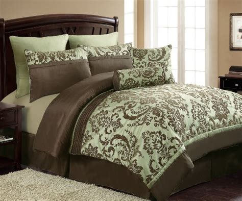 brown and green comforter sets green and brown comforter and bedding sets