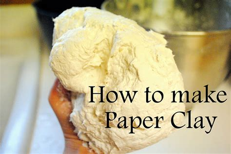 paper clay crafts dahlhart how to make paper clay