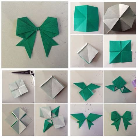 how to make a origami ribbon diy origami bow diy