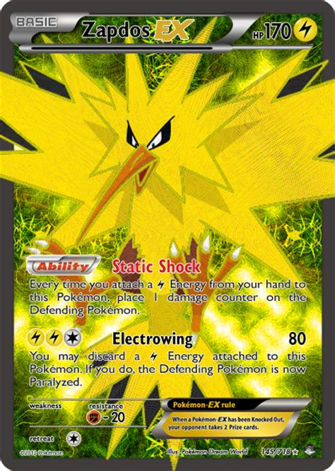 how to make a ex card thealpharanger cards zapdos ex by thealpharanger on