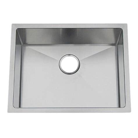 professional kitchen sinks frigidaire professional undermount stainless steel 23 in