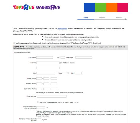 toys r us credit card make payment 6 things you need to about toys r us credit card