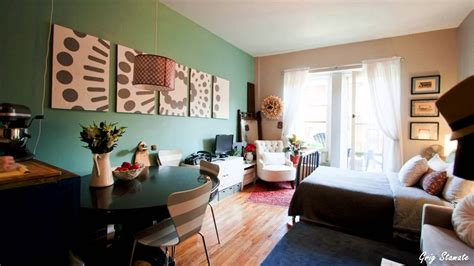 decorating a studio studio apartment decorating on a budget
