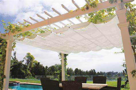 pergola with retractable shade retractable canopy for attached pergolas pergola depot