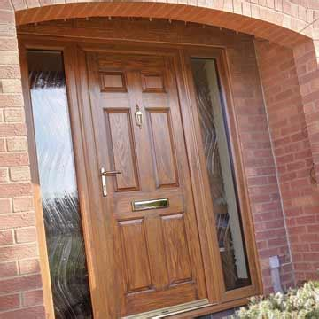 brown front doors upvc entrance doors albany windows glazing