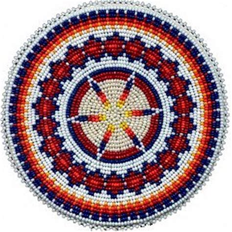 beaded rosettes patterns rosette pattern jewelry necklaces and pendants