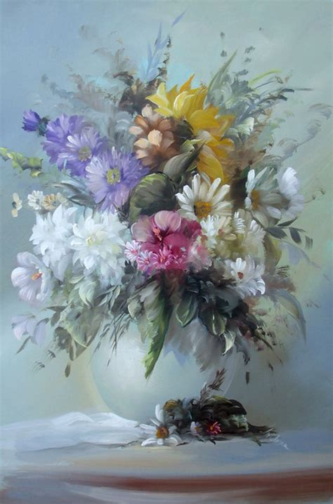flower painting beautiful images images floral paintings hd wallpaper