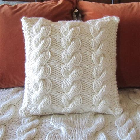 how to knit a pillow knitted pillow patterns a knitting