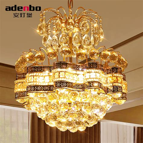 gold and chandeliers aliexpress buy modern gold led chandeliers
