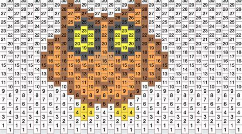 owl pony bead pattern owl no1 pony bead patterns animals kandi patterns for