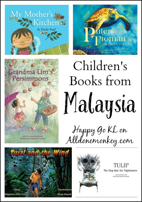 picture books about culture children s books from malaysia all done monkey