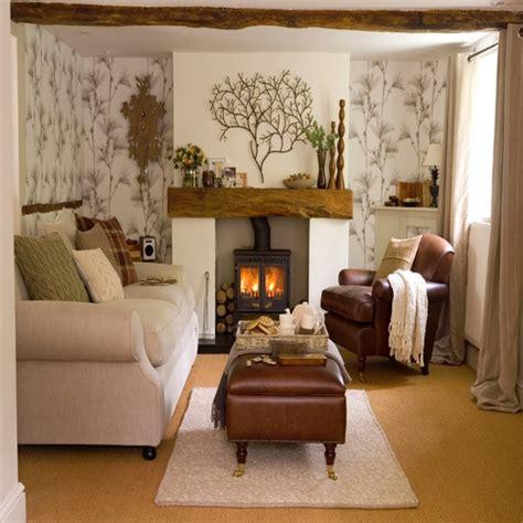 wallpaper livingroom living room with woodland wallpaper living room