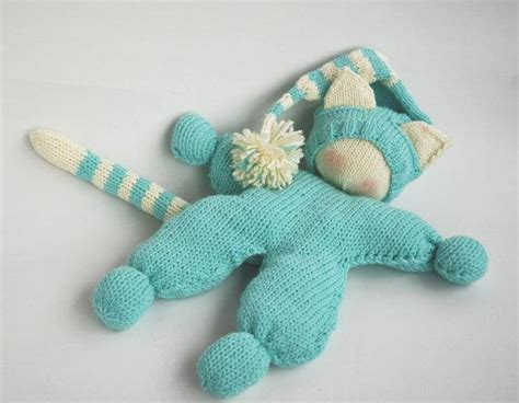 knitted waldorf doll pattern waldorf knitted cat doll by deniza17 craftsy