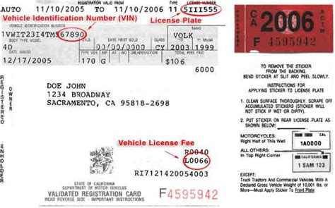 vehicle registration how to register your vehicle