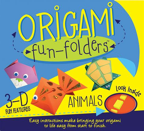 origami animals book origami folders animals book by play pen books