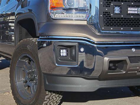 2014 best lights 2014 2015 gmc fog light kit black rigid industries