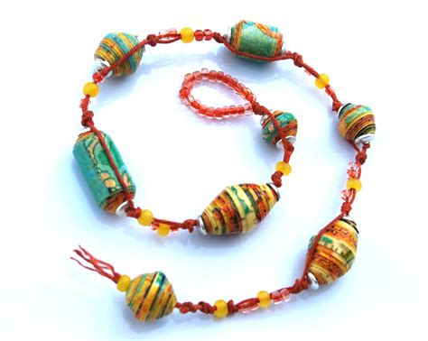 paper bead make bracelets bracelet tips design