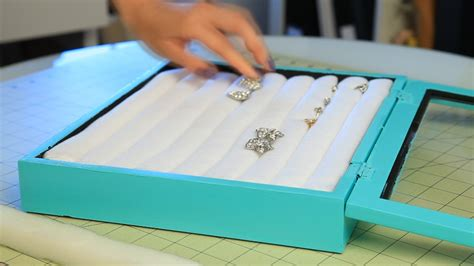 how to make jewelry box inserts diy co inspired jewelry box le style