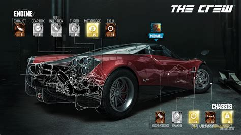 The Crew's microtransactions let you buy performance parts