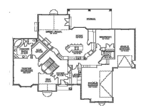 rambler floor plans with basement the 28 best rambler house plans with walkout basement