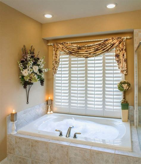 bathroom curtains for windows ideas curtain ideas bathroom window curtains with attached valance
