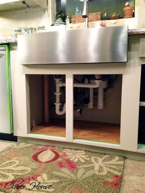 how to install an apron kitchen sink installing a farmhouse sink hometalk