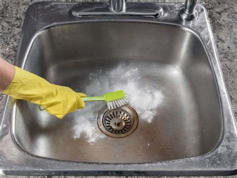 how to clean the kitchen sink cleaning kitchen sink with baking soda boldsky
