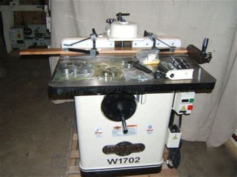 woodworking shapers for sale new wood shaper 3 power heavy duty 220 volt