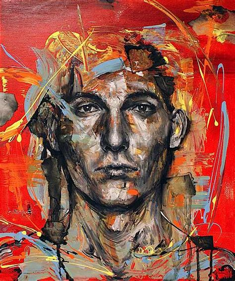 acrylic painting portrait acrylic portrait paintings
