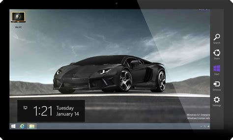 Car Wallpaper Themes by Lamborghini Cars Windows 8 Theme