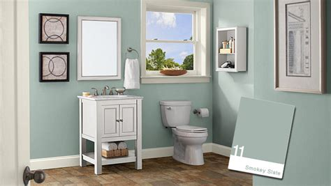 paint color ideas for small bathroom bathroom color ideas green house style pictures